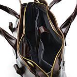 Чоловіча шкіряна сумка для документів GX-7107-3md TARWA, фото 10