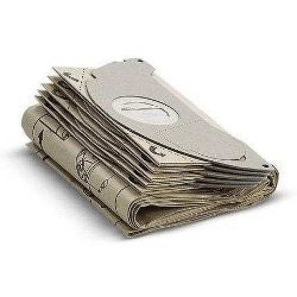 Фильтр-мешок бумажный Karcher к пылесосу SE 5.100 5+1шт, фото 2