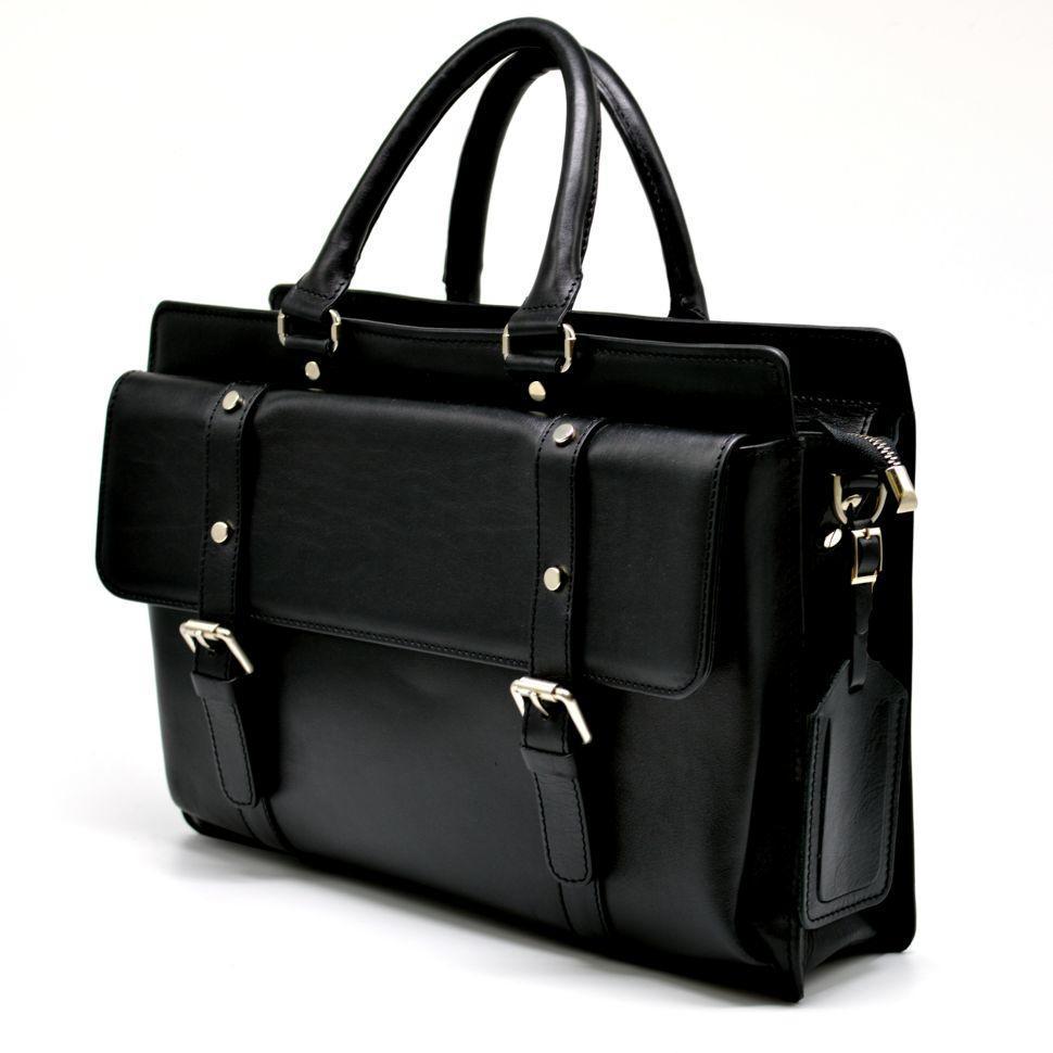 Шкіряна сумка-портфель TARWA,TA-4964-4lx