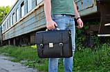 Портфель чоловічий TC-4464-4lx TARWA, з натуральної телячої шкіри, фото 9