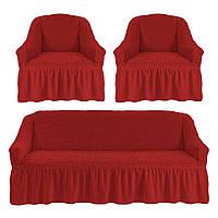 Наборы чехлов для дивана с 2 креслами, фото 1