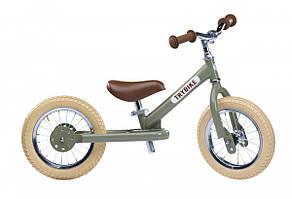 TRYBIKE - Балансирующий велосипед, цвет оливковый
