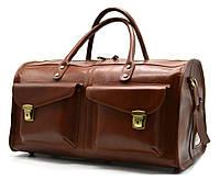 Дорожная кожаная сумка TB-5664-4lx TARWA, фото 1