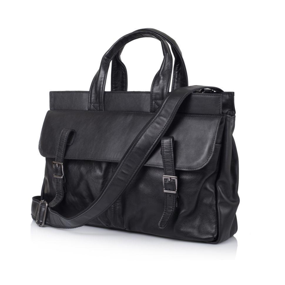 Мужская кожаная сумка с отделом для ноутбука GA-7107-1md TARWA