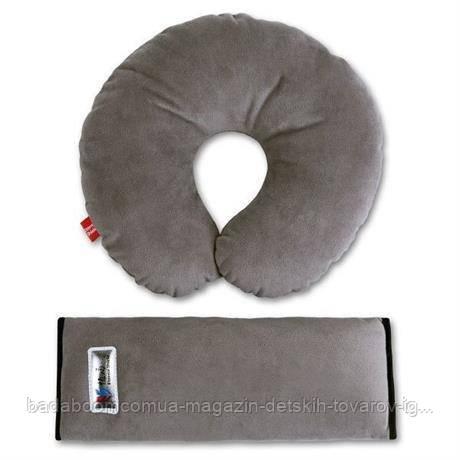 Комплект дорожный для сна Eternal Shield серый (4601234567848)