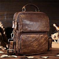 fb8d8fdd3507 Оригинальная мужская сумка через плечо, цвет коричневый, Bexhill bx8795