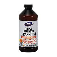 Жиросжигатель NOW Foods L-Carnitine Liquid 3000 mg 473 мл