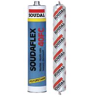 Клей-герметик полиуретановый быстроотверждающийся SOUDAFLEX 40 FC Soudal белый 310 мл.