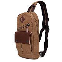 Брутальный мужской рюкзак, цвет кофе,  , 9034C