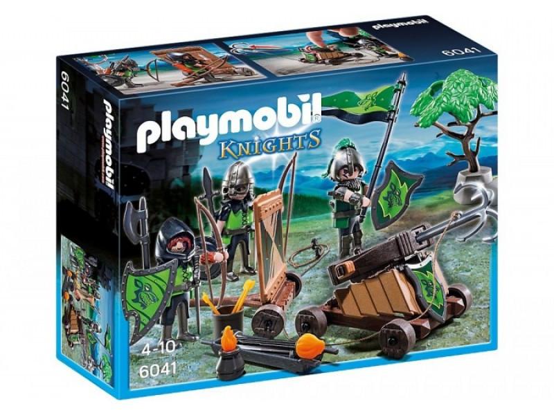 Playmobil 6041 Катапульта Лицарів Вовка (Конструктор Плеймобил Катапульта Рыцарей Волка)