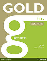 Gold First New Edition Coursebook with CD-ROM Pack