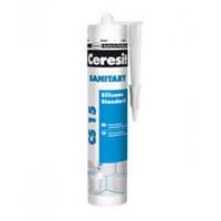 Герметик санитарный силиконовый  CERESIT  (белый)