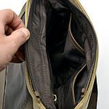 Сумка-месседжер мужская, парусина+кожа RС-1309-4lx TARWA, фото 6