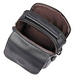 Мужская кожаная сумка через плечо 1032А, от бренда  , фото 6