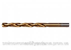 Свердло по металу титанове YATO : HSS-TIN, Ø= 5.0 мм, l= 86/52 мм