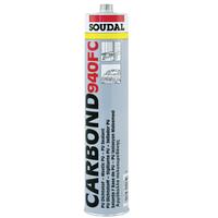 Клей-герметик полиуретановый быстроотверждающийся CARBOND 940 FC Soudal черный 310 мл.