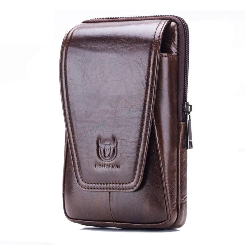 Мужская напоясная сумка из кожи BULL YB11