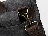 Модний рюкзак міський TB382 від BUG сірий, фото 6