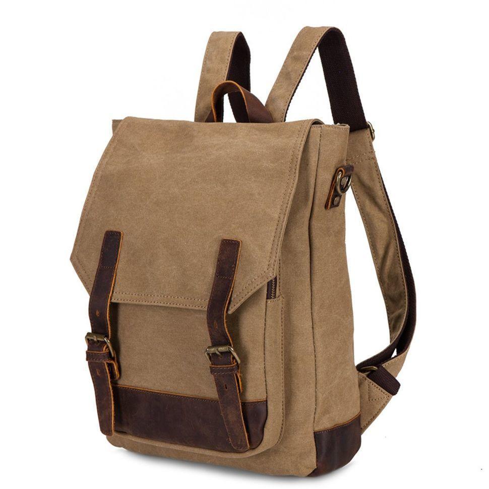 Модный городской рюкзак канвас TB382 от BUG