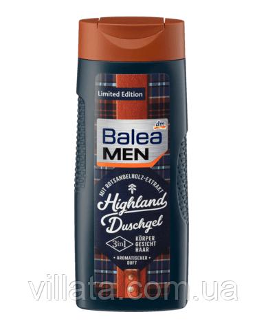 "Гель-шампунь для душа мужской ""Горы"" Balea Highland 300 ml"