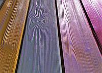 Браширование, состаривание древесины на промышленном оборудовании