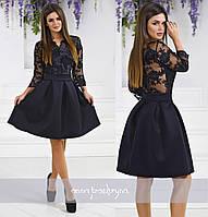 Платье / гипюр, неопрен / Украина 40-1599, фото 1