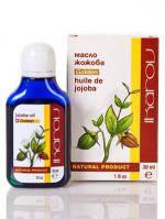 Масло жожоба(Икаров,30мл)-Обладает регенерирующим, разглаживающим и антиоксидантным действием, хорошо смягчает
