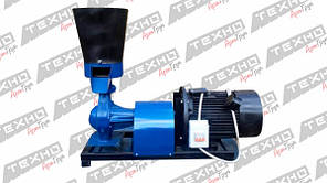 Гранулятор комбикорма ГК-200 (5.5 кВт / 7,5 кВт 380V) подвижная матрица