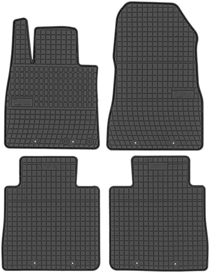 Коврики в салон Nissan Note II 2013- модельные резиновые Elegant EL 200456