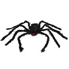 Огромный мягкий паук! Большой черный тарантул! 75 см!, фото 2
