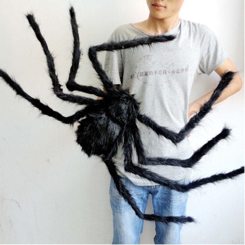 Огромный мягкий паук! Большой черный тарантул! 75 см!