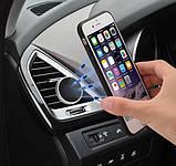 Магнитный держатель для мобильного телефона на решетку, металлический, фото 5