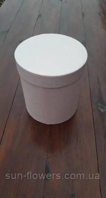 Коробка шляпная однотонная(тубус)