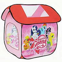 Палатка М 3302 «My Little Pony» Литл Пони, 112х102х114