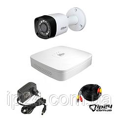 Dahua Light OUT 1 Комплект видеонаблюдения на 1 камеру