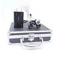 Комплект бинокуляры B1 3.5x-420 + подсветка, black, фото 1