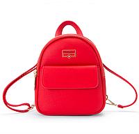 Рюкзак женский мини сумка Forever Young Classic Красный, фото 1