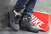 e3cbec2f Мужские зимние кроссовки на меху в стиле Nike air Max 98, серые. Код товара