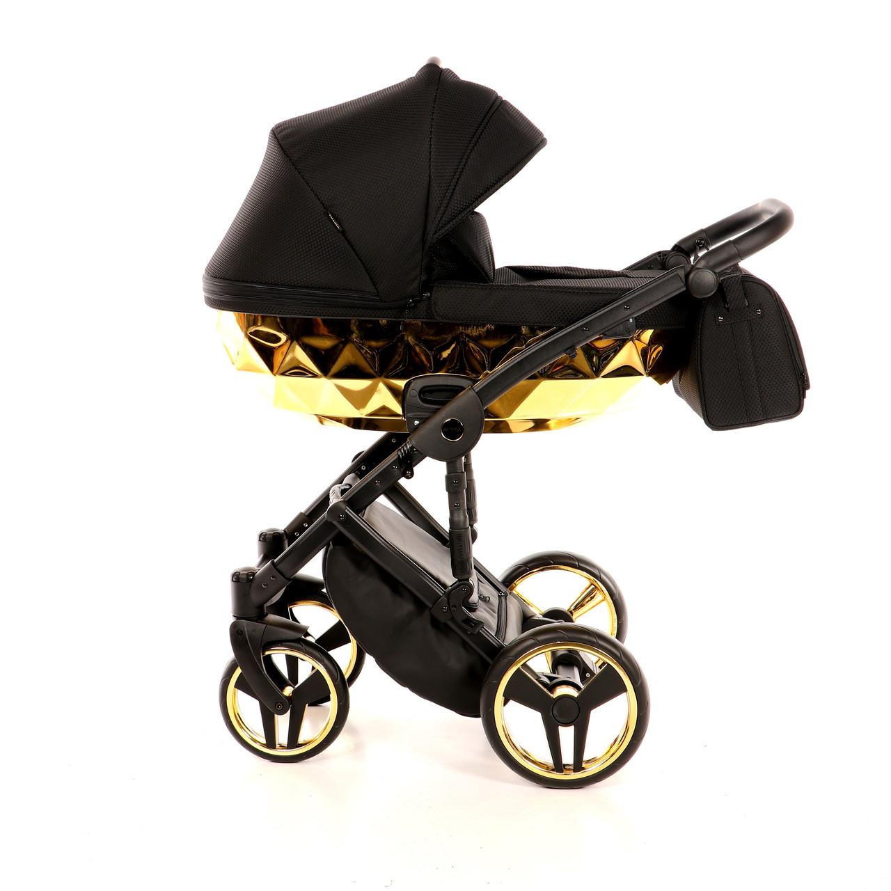 Детская универсальная коляска 2 в 1 Junama Mirror Gold