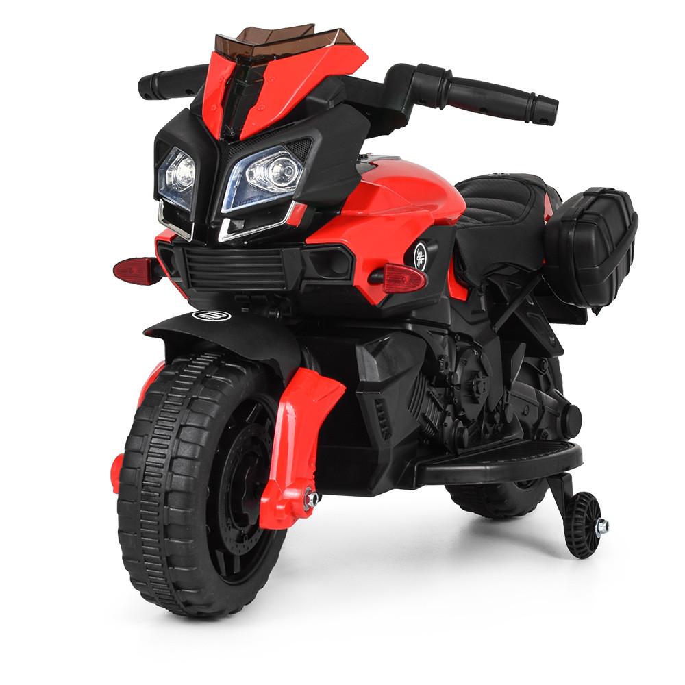 Мотоцикл детский M 3832L-2-3 красно-черный Гарантия качества Быстрая доставка