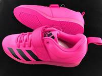Обувь для тяжелой атлетики Power lift 4. F36051- розового цвета