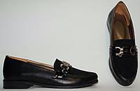 Туфли женские на низком ходу из натуральной кожи от производителя модель  АР205-2 2a7c65faaeb08