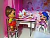 Будиночок для LOL. Будиночок для маленьких ляльок ЛОЛ 2123 з меблями, текстилем, шпалерами, шторками, двориком і фермою, фото 2