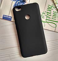 Чехол на Xiaomi Redmi Note 5A Pro 3/32 Gb (со сканером) Soft-TPU матовый Черный
