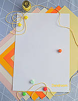 Бумага для пастели белая, Tiziano A4 (21*29,7см), №01 bianco, 160г/м2, среднее зерно, Fabriano