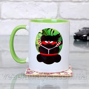 Чашка Ninja 3 (Желейный медведь Валерка)