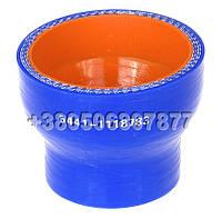 Патрубок силиконовый для ГАЗ интеркулера для ММЗ-245 (d50/70 L65)