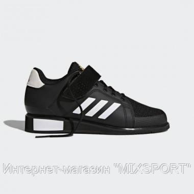Обувь для тяжелой атлетики Power Perfect 3. BB6363 - черного цвета