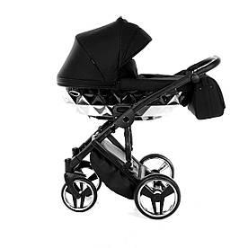 Детская универсальная коляска 2 в 1 Junama Mirror Silver