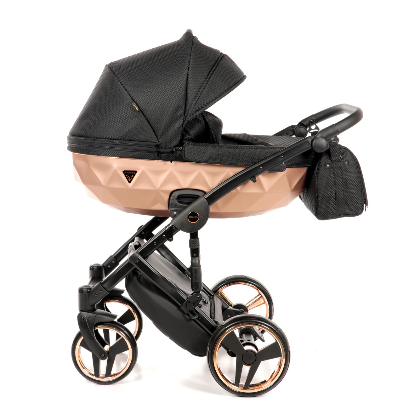 Детская универсальная коляска 2 в 1 Junama Mirror Satin 02